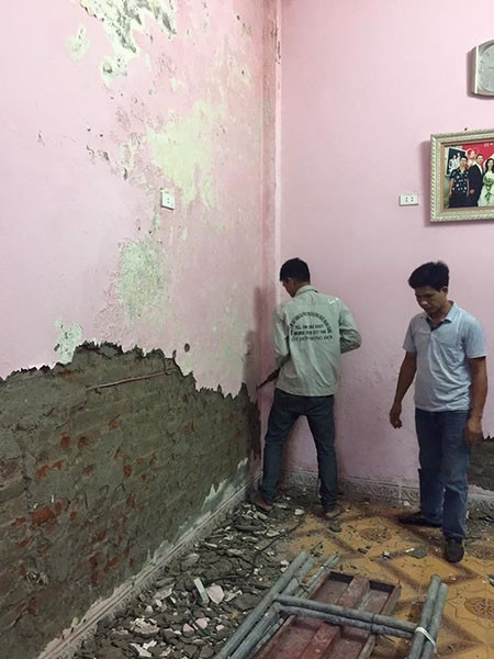 sửa nhà bị nứt